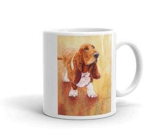 Basset Hound II 11oz Coffee Mug