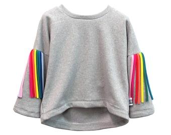 Midi rainbow jumper