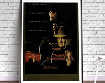 Unforgiven - Film, Movie, Poster