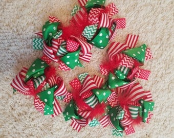 Christmas Bow 4-5 inch