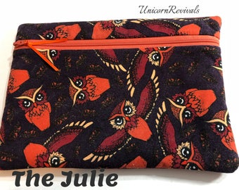 The Julie: HP Owls in Red