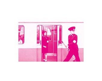 Magenta North Korea #01 - The train