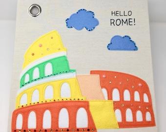 Hello Rome! Canvas Storage Box