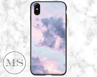Clouds, Purple, Pink Sky, Abstract case for iPhone X, 8, 8 Plus, 7, 7 Plus, 6s, 6s Plus, 6, 6 Plus, 5, 5s, SE, cheap, girly