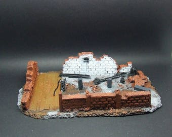 28mm Modern Ruins *Pro-Painted*