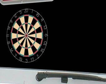 Wireframe Dart Board