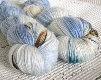 Cove - Luxury Hand Dyed Speckled Sock Yarn - Merino Cashmere Nylon