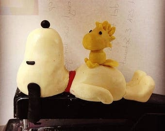 Snoopy and Woodstock Cake Topper