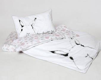 Bed linen 100x135 cm | BUNNY