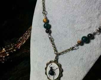 Handmade Weevil Necklace