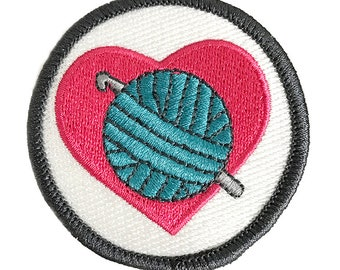 Crochet Love Craftbadge craft merit badge