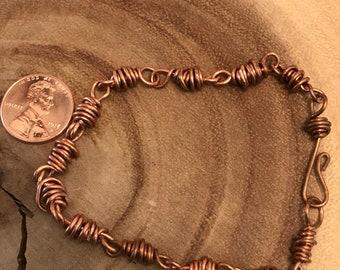 Double Wrapped Link Bracelet