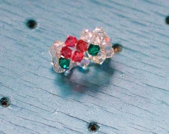 Swarovski Beaded Ring