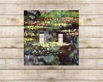 Water Lilies Decorative Switchplate