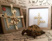 Personalised Photo Scrabble Frames