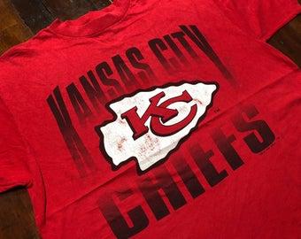 Vintage 1995 Kansas City Chiefs T-Shirt size XL