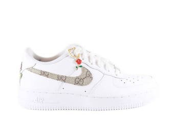 Nike Gucci Low Air Force 1 white sneaker