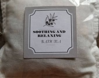 Soothing and Relaxing Bath Tea