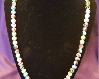 Gorgeous Clay Bead Necklace