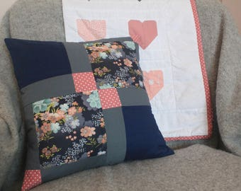 Quilted Cushion Cover PDF Pattern