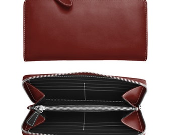 Women's wallet with zipper