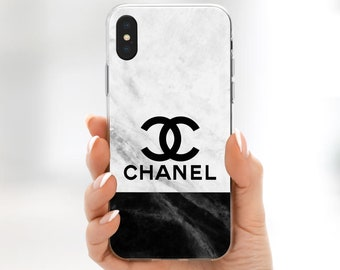 chanel iphone case chanel logo etsy 10355