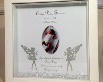 Personalised New Born Frame