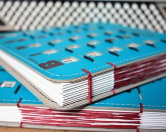 BINGO Book, Vintage Wedding Book, Vintage BINGO, Sketchbook, Back to School, Journal - made to order