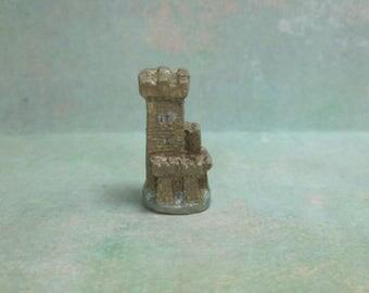 Dollhouse Miniature Castle Tower Figurine