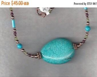 Native American Semiprecious Stone Necklace