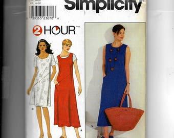 Simplicity Misses'  Dress  Pattern 8765