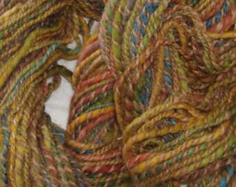 Handspun Llama and Wool Yarn (1215-2)