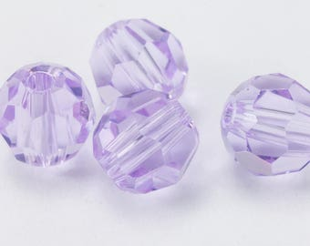 Swarovski 5000 Violet Faceted Bead