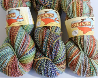 ColorMix Active DK - ILLUMINATION -  Superwash Merino Wool - Hand dyed gradient striping yarn, marl marled painted ombre shawl knitting