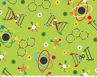 Northcott Little Genius Lime Science Atom DNA 21533-74