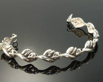 Sterling Silver 21st Century Fox© Bracelet by Cavallo fine Jewelry