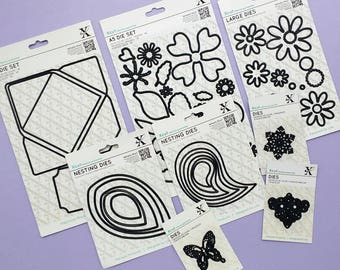 Assorted Xcut Dies - Die Cutting Sets - Destash