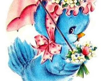 Ms Birdie Cross Stitch Pattern PDF