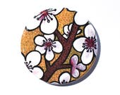 Cherry Blossoms Pin, Magn...
