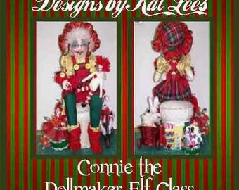 christmas dolls, seasonal dolls. holiday dolls, fantasy dolls, whimsical dolls, Toymaker Elf