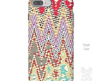 iPhone 7 Plus Case, Geometric iPhone Case, iPhone 7 case, chevron iPhone case, iPhone cases, iPhone case, iPhone 6 plus case, Galaxy S8 Case