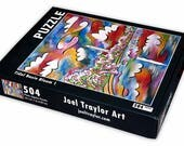 "Tidal Basin Bloom 1 ~ 504 piece puzzle ~ 16""x20"""