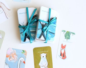 animal wisdon  oracle card deck