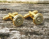Bullet Jewelry, Gold Cufflink, 9mm Bullet Cufflink, Ammo Cufflink, Bullet Slice, Shell Casing,Wedding Cufflink, Gift Idea For Him Boyfriend