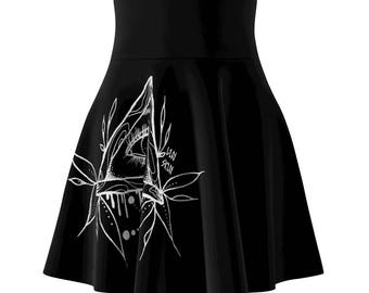 All Seeing Eye Skater Skirt