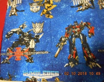 MadieBs Tramsformers Bumblebee Cotton Travel/Toddler Personalized Pillowcase New Custom