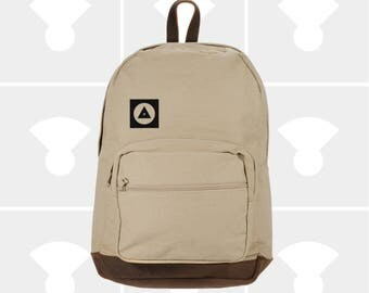 Classic Canvas Backpack - Variety of Bauhaus Graphics