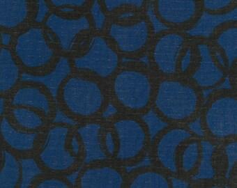 Japanese Fabric Kokka Ellen Baker Paint - loops - B - 50cm