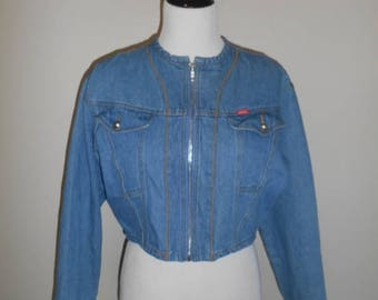 Womens Vintage Jean Jacket vintage denim jacket