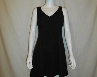 Nicole Miller Dress - 1990s Little Black Dress - 90s designer Dress